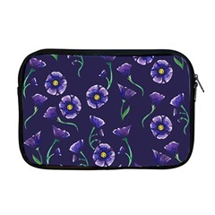 Floral Apple Macbook Pro 17  Zipper Case