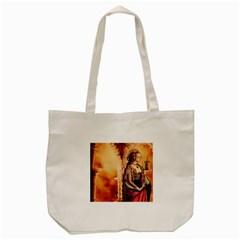 Fantasy Art Painting Magic Woman  Tote Bag (cream)