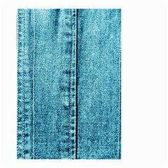Denim Jeans Fabric Texture Small Garden Flag (two Sides)