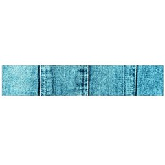 Denim Jeans Fabric Texture Flano Scarf (large)