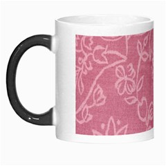 Floral Rose Flower Embroidery Pattern Morph Mugs