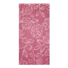 Floral Rose Flower Embroidery Pattern Shower Curtain 36  X 72  (stall)
