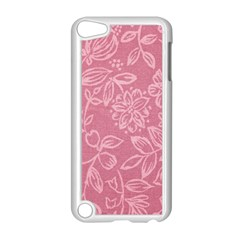 Floral Rose Flower Embroidery Pattern Apple Ipod Touch 5 Case (white)