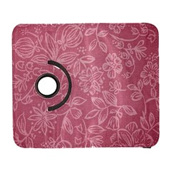 Floral Rose Flower Embroidery Pattern Galaxy S3 (flip/folio)
