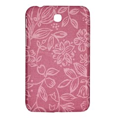 Floral Rose Flower Embroidery Pattern Samsung Galaxy Tab 3 (7 ) P3200 Hardshell Case
