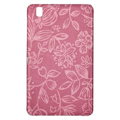 Floral Rose Flower Embroidery Pattern Samsung Galaxy Tab Pro 8 4 Hardshell Case