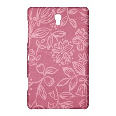 Floral Rose Flower Embroidery Pattern Samsung Galaxy Tab S (8 4 ) Hardshell Case