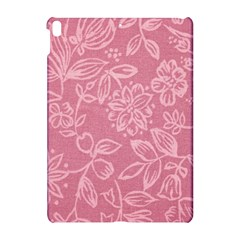 Floral Rose Flower Embroidery Pattern Apple Ipad Pro 10 5   Hardshell Case
