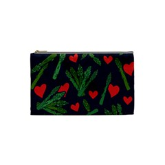 Asparagus Lover Cosmetic Bag (small)