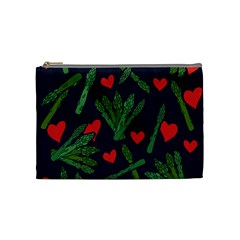 Asparagus Lover Cosmetic Bag (medium)