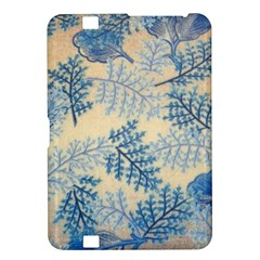 Fabric Embroidery Blue Texture Kindle Fire Hd 8 9