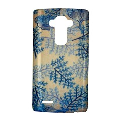 Fabric Embroidery Blue Texture Lg G4 Hardshell Case