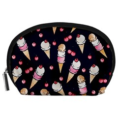 Ice Cream Lover Accessory Pouches (large)