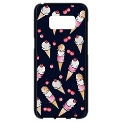 Ice Cream Lover Samsung Galaxy S8 Black Seamless Case