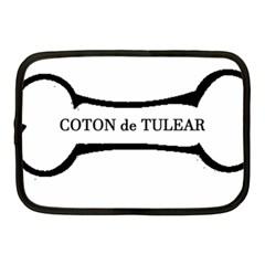Coton De Tulear Dog Bone Netbook Case (medium)