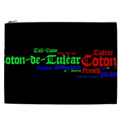 Coton De Tulear Mashup Cosmetic Bag (xxl)