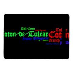 Coton De Tulear Mashup Samsung Galaxy Tab Pro 10 1  Flip Case
