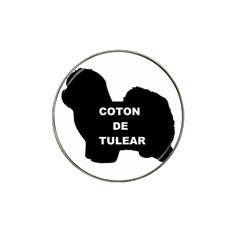 Coton De Tulear Name Silo Hat Clip Ball Marker (10 Pack)