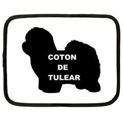 Coton De Tulear Name Silo Netbook Case (xxl)