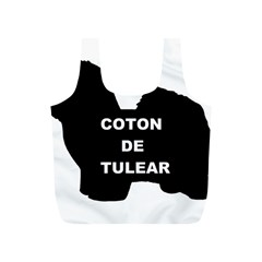 Coton De Tulear Name Silo Full Print Recycle Bags (s)