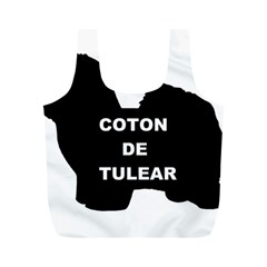 Coton De Tulear Name Silo Full Print Recycle Bags (m)