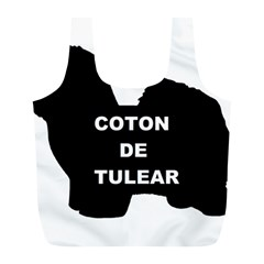 Coton De Tulear Name Silo Full Print Recycle Bags (l)