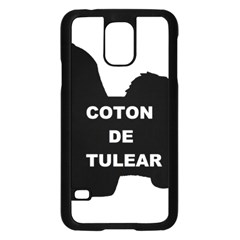 Coton De Tulear Name Silo Samsung Galaxy S5 Case (black)