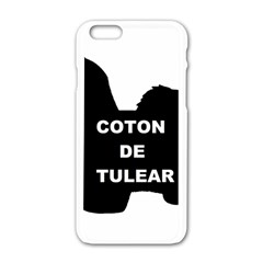 Coton De Tulear Name Silo Apple Iphone 6/6s White Enamel Case