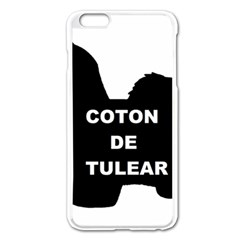 Coton De Tulear Name Silo Apple Iphone 6 Plus/6s Plus Enamel White Case