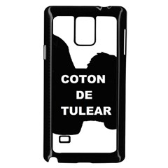 Coton De Tulear Name Silo Samsung Galaxy Note 4 Case (black)