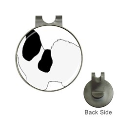 Coton De Tulear Silhouette Color Bw Hat Clips With Golf Markers