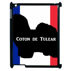 Coton De Tulear Silo Name France Flag Apple Ipad 2 Case (black)