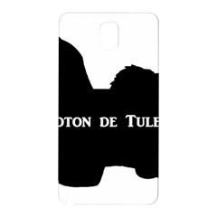 Coton De Tulear Silo Name France Flag Samsung Galaxy Note 3 N9005 Hardshell Back Case