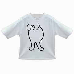 Coton Dog Butt Infant/toddler T Shirts