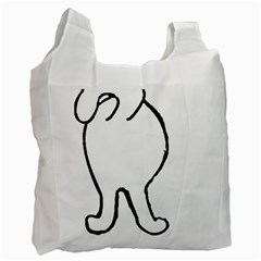 Coton Dog Butt Recycle Bag (two Side)