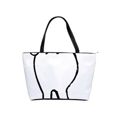 Coton Dog Butt Shoulder Handbags