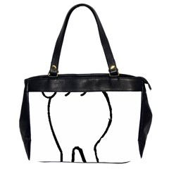 Coton Dog Butt Office Handbags (2 Sides)