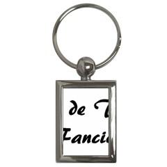 Coton Fancier Key Chains (rectangle)