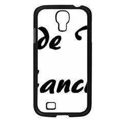 Coton Fancier Samsung Galaxy S4 I9500/ I9505 Case (black)