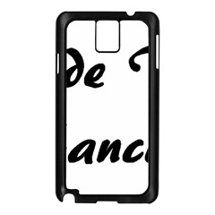 Coton Fancier Samsung Galaxy Note 3 N9005 Case (black)