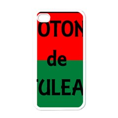 Coton Name Flag Madagascar Apple Iphone 4 Case (white)
