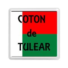 Coton Name Flag Madagascar Memory Card Reader (square)