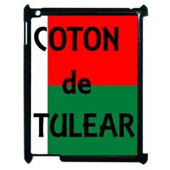 Coton Name Flag Madagascar Apple Ipad 2 Case (black)