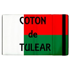 Coton Name Flag Madagascar Apple Ipad 3/4 Flip Case
