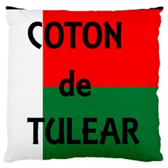 Coton Name Flag Madagascar Standard Flano Cushion Case (two Sides)