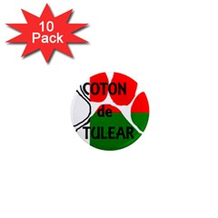 Coton Name Madagascar Paw Flag 1  Mini Magnet (10 Pack)