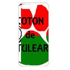 Coton Name Madagascar Paw Flag Apple Iphone 5 Seamless Case (white)