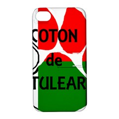 Coton Name Madagascar Paw Flag Apple Iphone 4/4s Hardshell Case With Stand