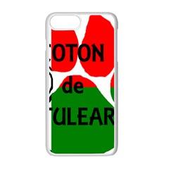 Coton Name Madagascar Paw Flag Apple Iphone 7 Plus White Seamless Case