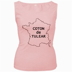 France Outline W Name Women s Pink Tank Top